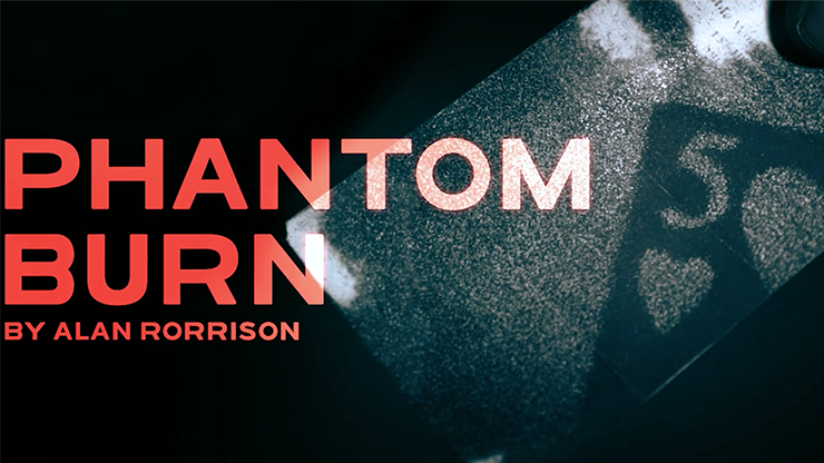 Phantom Burn - Alan Rorrison - DVD