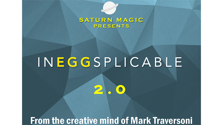 InEGGsplicable 2.0 (White) by Mark Traversoni