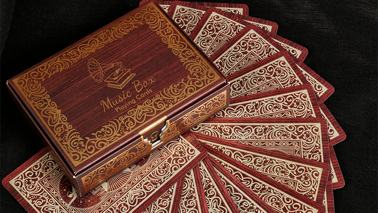 Music Box Playing Cards - Collectible Playing Cards