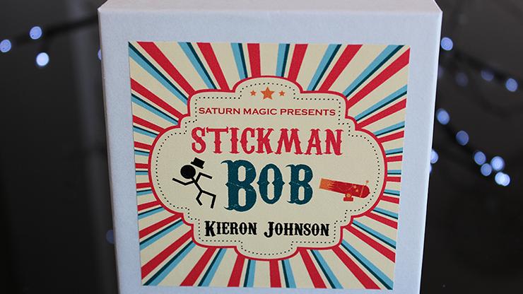 Stickman Bob by Kieron Johnson Strichmännchen brennt sich durch Deck zu Zuschauerkarte