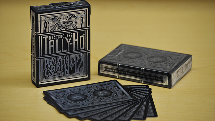 Tally-Ho Masterclass (NEGRO) Playing Cards
