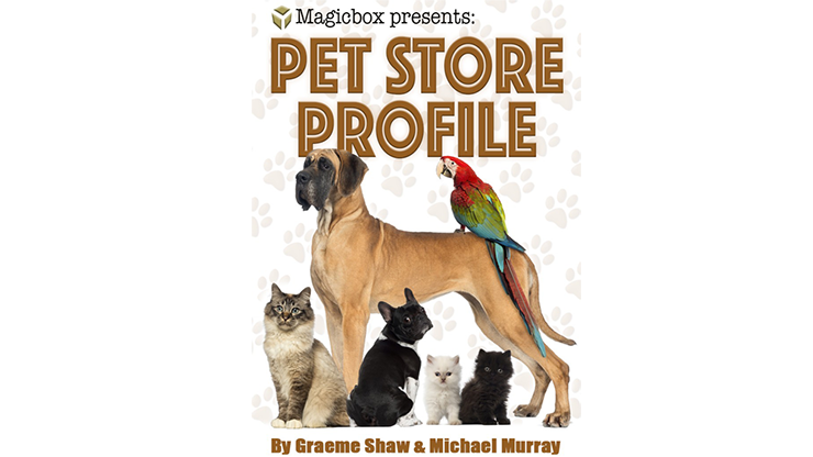 Pet Store Profile by Graeme Shaw & Michael Murray