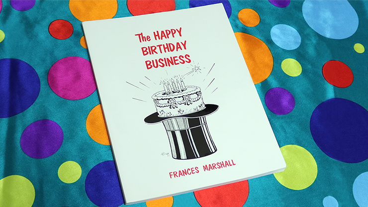 The Happy Birthday Business by Frances Marshall - Book