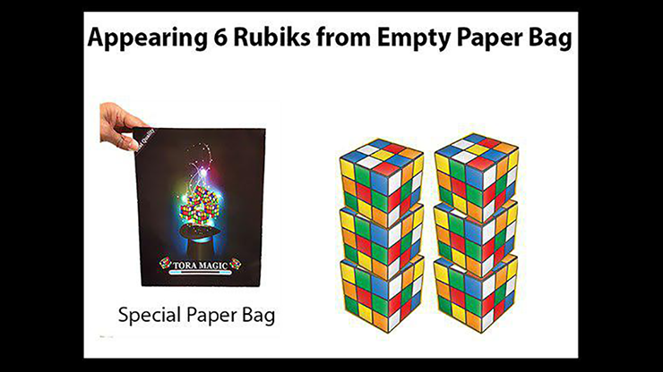 Appearing Rubiks from Tora Magic MagicWorld Magic Shop