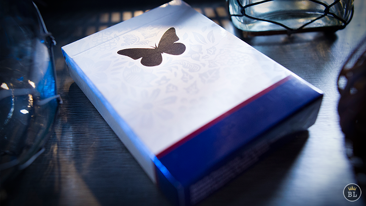 The Butterfly Treasure Limited Numbered Set (2 marked decks, 2 unmarked decks and book)