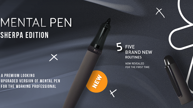 Mental Pen Sherpa Limited Edition by João Miranda and Gustavo Sereno - Trick