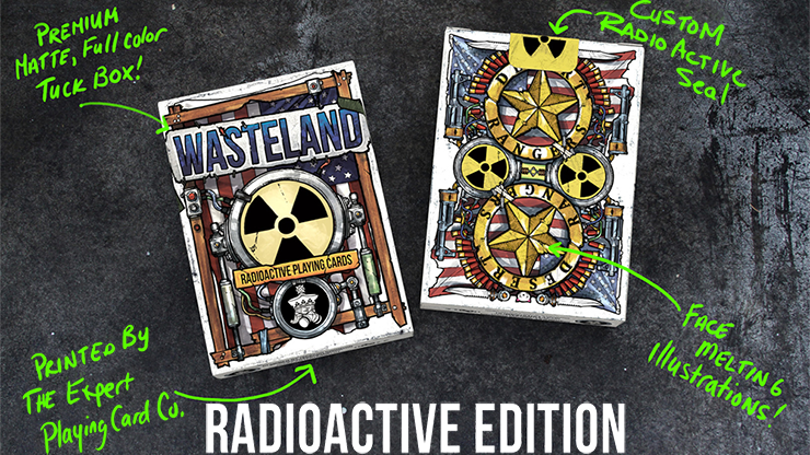 Wasteland Radio Active Edition Playing Cards - Jackson Robinson