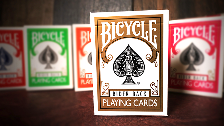 Cartas Bicycle Gold Playing Cards