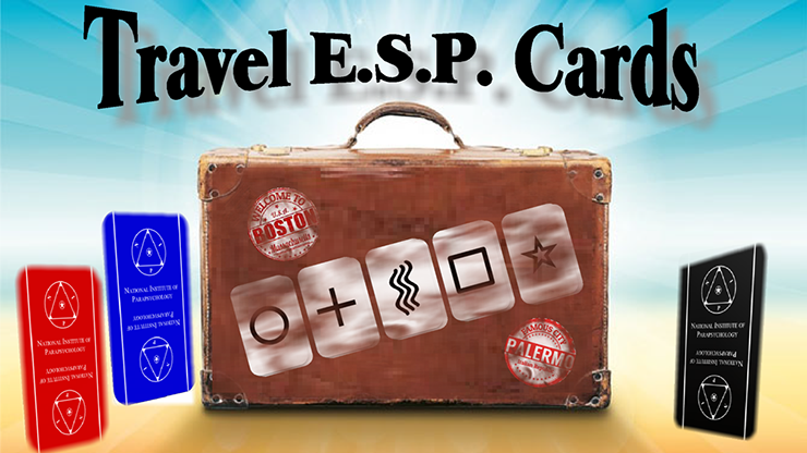 Travel ESP Cards (Gimmicks & Instrucciones Online) - Paul Carnazzo