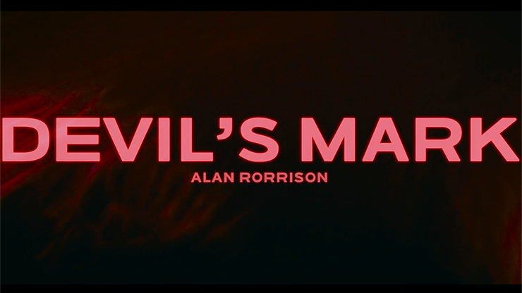 Devil's Mark (DVD & Gimmicks) - Alan Rorrison - DVD