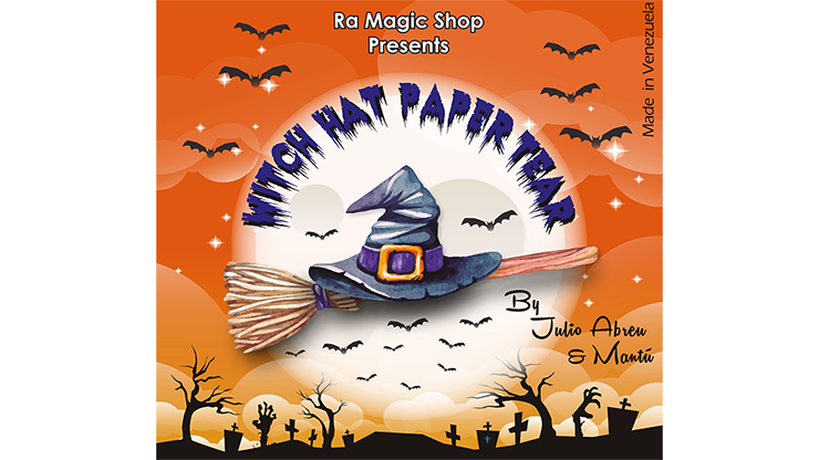 Witch Hat Paper Tear by Ra Magic - Trick