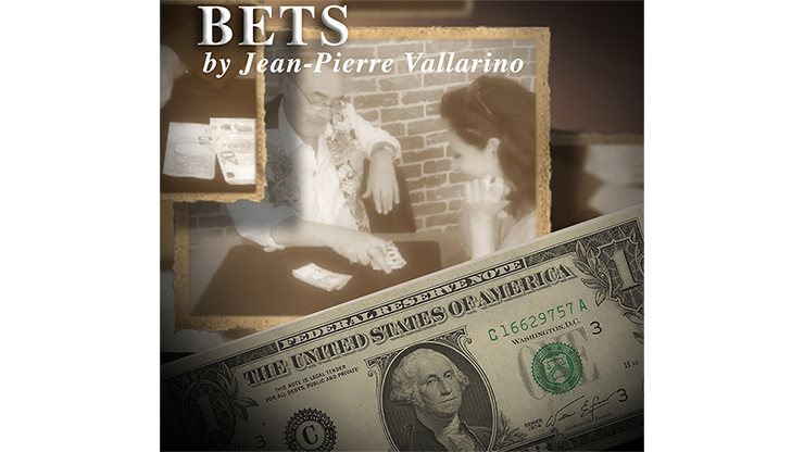 BETS (Euro) by Jean-Pierre Vallarino - Trick