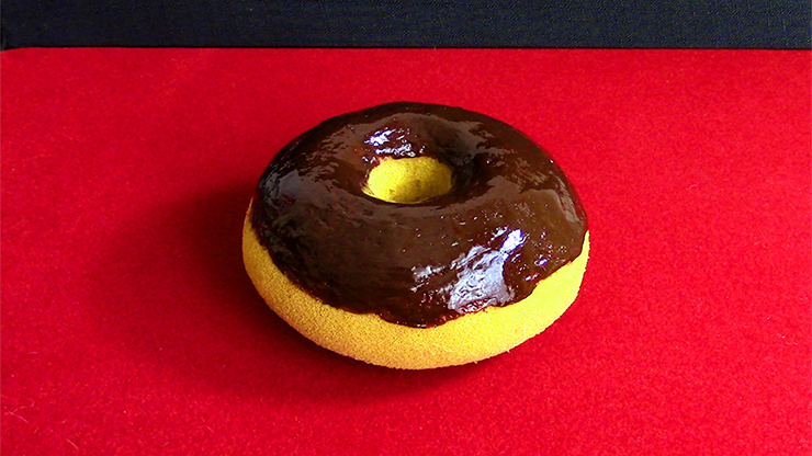 Sponge Chocolate Doughnut