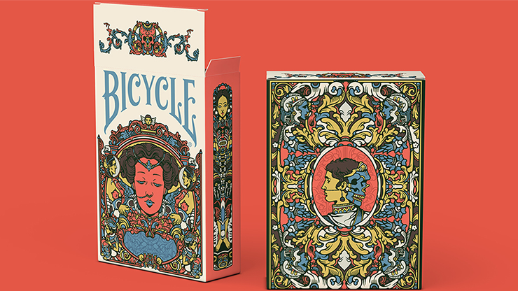 Bicycle Artist Playing Cards Second Edition by Prestige Playing Cards Poker Kartenspiel Spielkarten