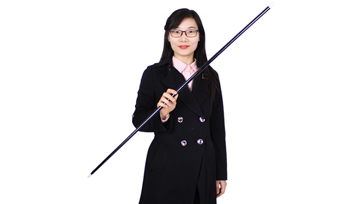 Appearing Cane (Plastic, BLACK) by JL Magic
