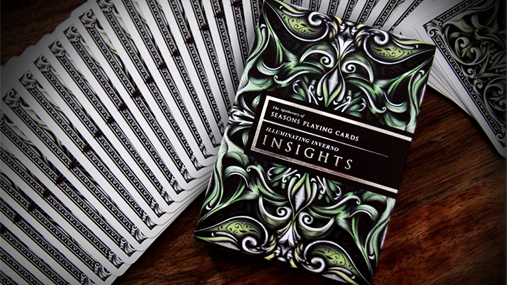 Illuminating Inverno Insights Playing Cards - Alex Chin