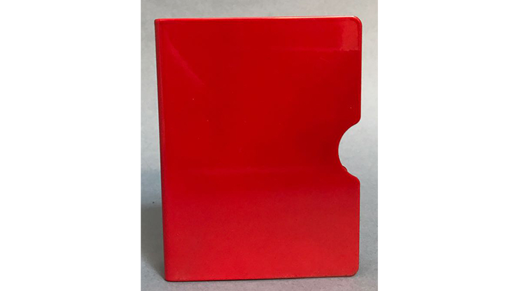 Card Guard (Red) by Bazar de Magia