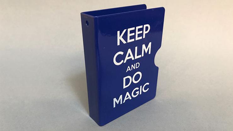 Keep Calm and Do Magic Card Guard (Blue) by Bazar de Magia