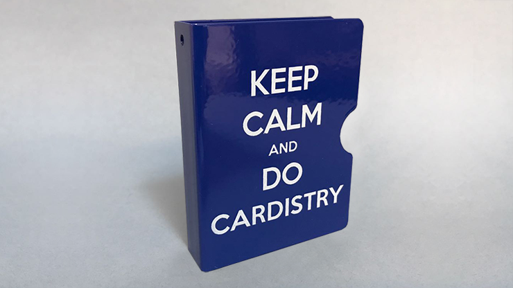 Keep Calm and Do Cardistry Card Guard (Blue) by Bazar de Magia