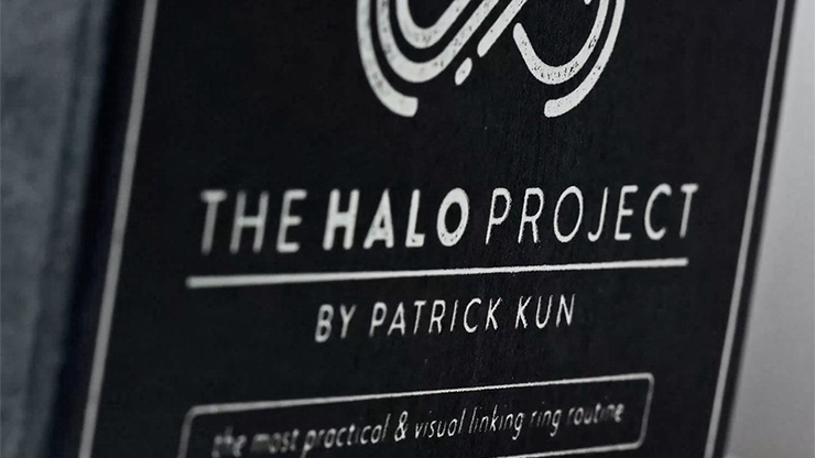 The Halo Project Size 8 (Gimmicks and Online Instructions) by Patrick Kun Ringdurchdringung, 18 mm
