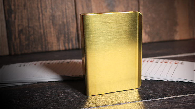 Card Clip (BRASS) for Standard Deck - Tricks