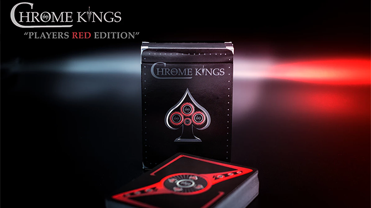 Chrome Kings Limited Edition Playing Cards (Players Red Edition) - De'vo vom Schattenreich & Handlor