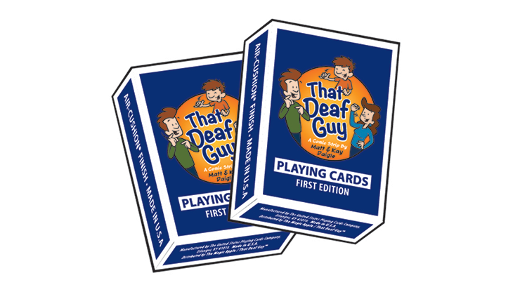 That Deaf Guy Classic Edition Playing Cards
