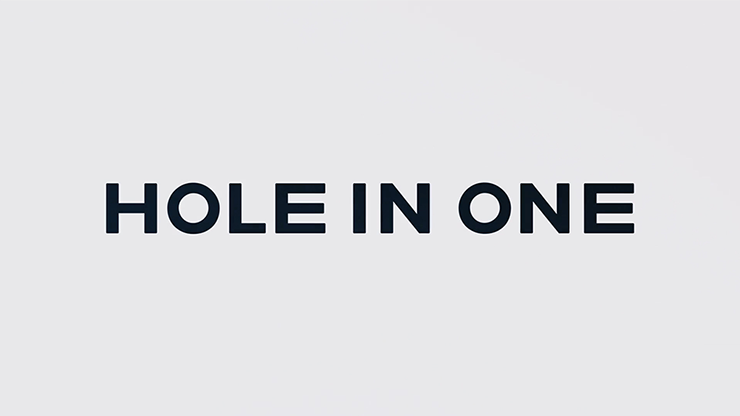 Hole in One (DVD and Gimmicks) by SansMinds Creative Labs Loch in Geldschein erzeugen
