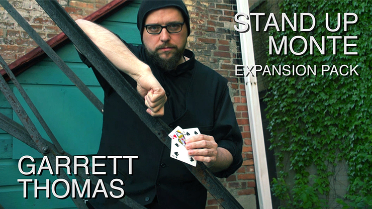 Stand Up Monte Expansion Pack (DVD and Gimmicks) by Garrett Thomas - DVD