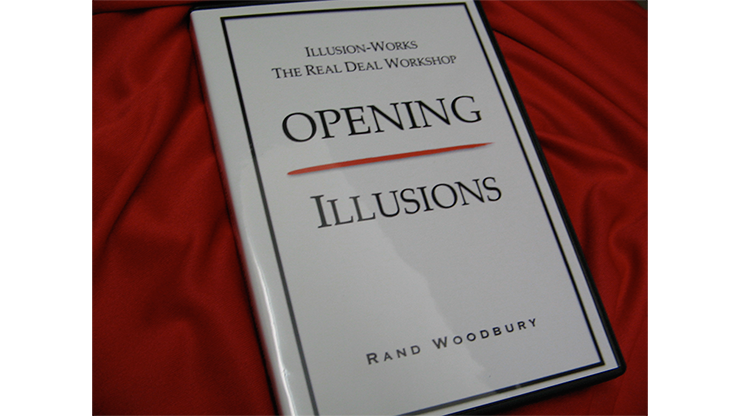 OPENING ILLUSIONS - Rand Woodbury - DVD