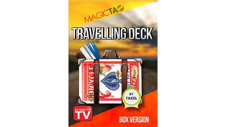 Travelling Deck Box Version Blue (Gimmick & Instrucciones Online) - Takel