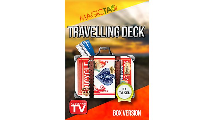 Travelling Deck Box Version Red (Gimmick & Instrucciones Online)