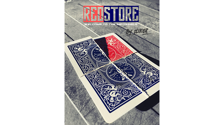REDSTORE by Olivier Pont - Trick MagicWorld Magic Shop