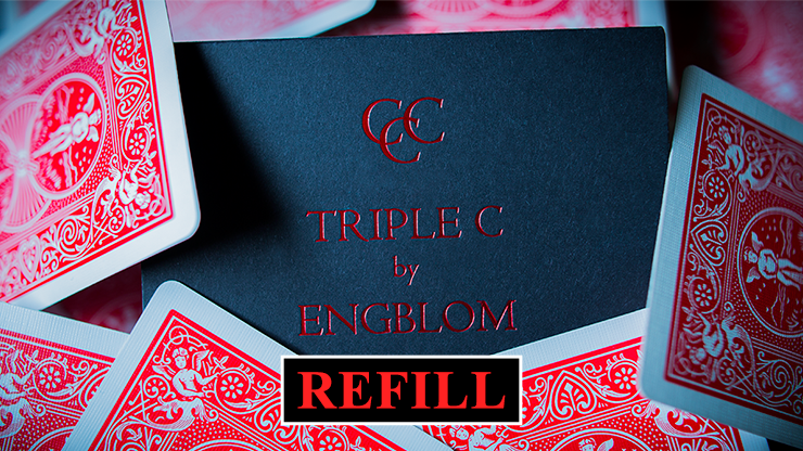 Refill for Triple C (Red) by Christian Engblom - Trick