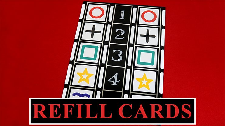 Refill Cards for Astor Mental (Stage Version) by Astor