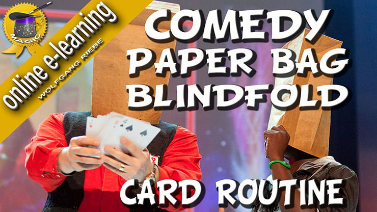 Comedy Paper Bag Blindfold Routine Video DOWNLOAD