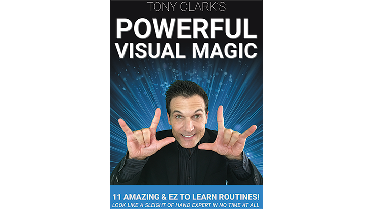 Powerful Visual Magic - Tony Clark - DVD