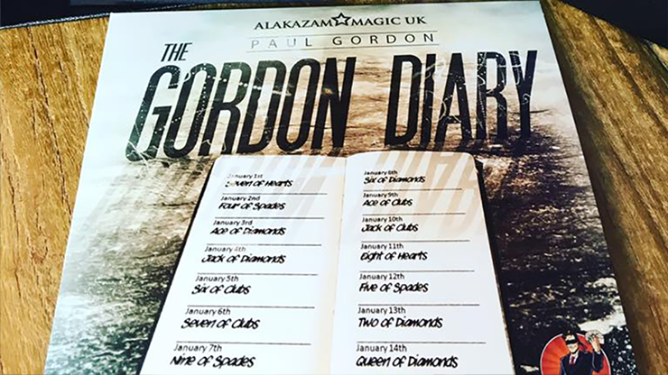 The Gordon Diary Trick Lite - Paul Gordon - DVD