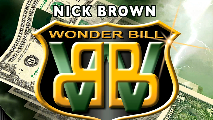 Nick Brown Wonder Bill (DVD and Gimmicks)