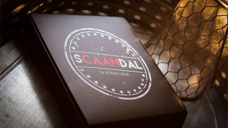 SCAANDAL by Adrian Vega (Online Instructions and Gimmick) 2-phasige Mentalroutine
