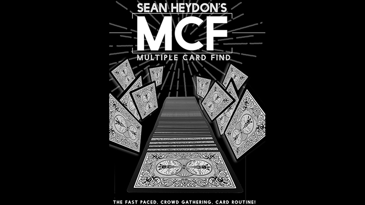 MCF (Multiple Card Find) - Sean Heydon - DVD