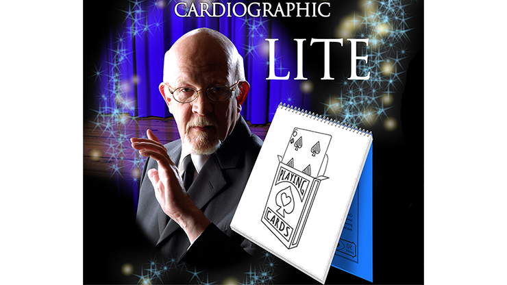Cardiographic LITE BLACK CARD by Martin Lewis