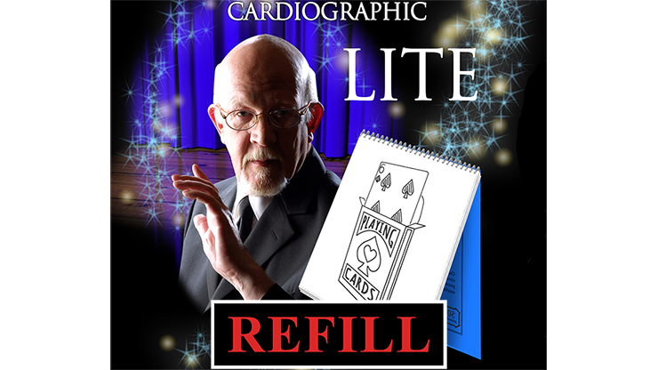 Cardiographic Lite Refill by Martin Lewis - Trick
