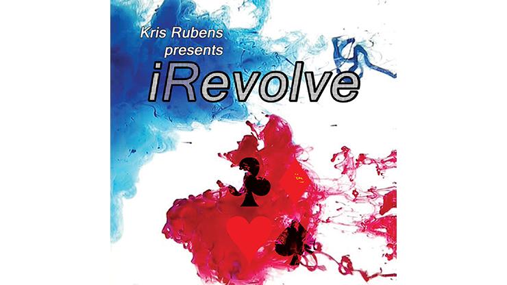 iRevolve (Red/Blue) by Kris Rubens Verwandlungskarte roter zu blauer Rücken