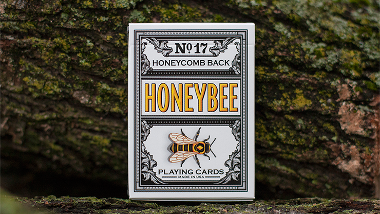 Honeybee V2 Playing Cards (NEGRO)