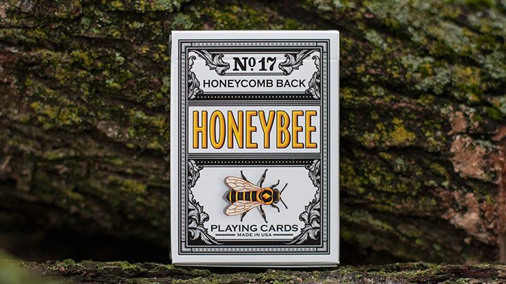 Honeybee V2 Playing Cards (NEGRO)
