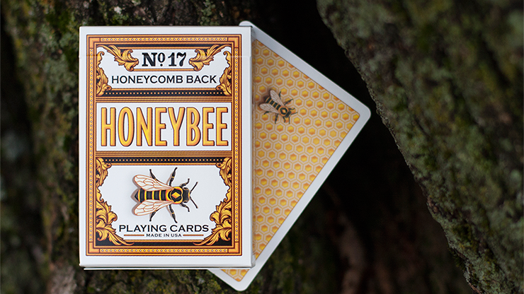 Honeybee V2 Playing Cards (AMARILLO)