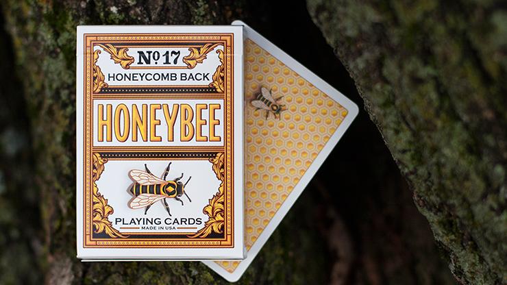 Honeybee V2 Playing Cards (AMARILLO)