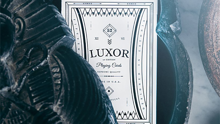 Edicion Limitada BLANCO Luxor Playing Cards - Toomas Pintson