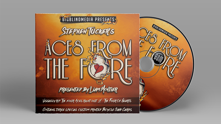 Stephen Tucker's Aces From The Fore (Gimmicks & DVD) - DVD